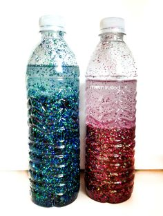 Have better time-outs!    Oh, you're really upset? Hey look over here at this sparkly bottle. Shake it up. Watch it settle. All is calm and time-out is over! Now it's time to talk about what happened calmly.