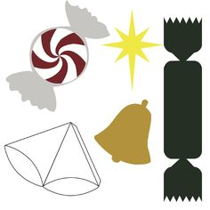 free svg files   Free SVG File Download – Christmas 5 PACK! Christmas Bell, Behtlehem ...