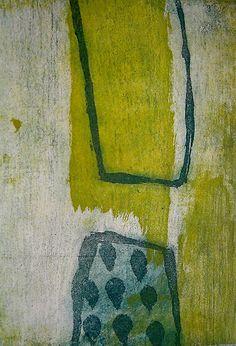 'Outside In' by London-based artist Jai Llewellyn (b.1977). Etching. via daily art journal on tumblr