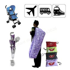 Baby stroller  storage bag child car baby umbrella car storage bag travelling bag dustproof backpacks suspenders
