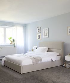 0a2febebce31 Pedro Ash Grey King Size Bed with Storage | King Bed | UK