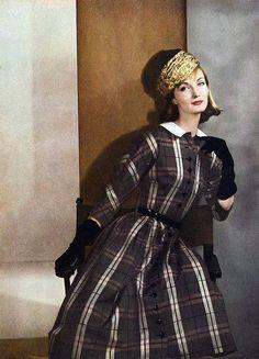 Harper's Bazaar Feb 1956 Evelyn Tripp