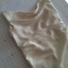 I love a bias cut dress! Vintage inspired dress starting to take shape #wedding #Bridal #Bespoke #Vintage #taradeighton