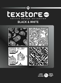 Vol 07-Black & Whie:  Inspirational Graphic Design For Fashion and Interiors