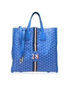 Lyst - Goyard Toile  leather Voltaire 2way Tote Bag Bue in Blue Ladies  Handbags 11d04cfa9f6dc