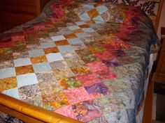 Chinese Windows Bed Quilt | FaveQuilts.com