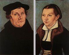 Workshop Lucas Cranach d.Ä. - Doppelporträt Martin Luther u. Katharina Bora (Uffizien) - Lucas Cranach der Ältere - Wikimedia Commons