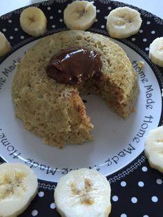 bowl cake banane nutella