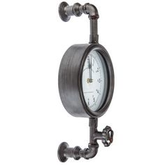 Steampunk Inspired Industrial Pipe Wall Clock Rustic Country Decor for sale online Home Decor Rustic Country, Country Style Homes, Country Chic, Rustic Decor, Vintage Decor, Shabby Chic Wall Clock, Rustic Wall Clocks, Shabby Chic Homes, Shabby Chic Decor