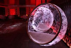 Wonderful and Spectacular Bubble Chairs Design With LED illuminated by Rousseau
