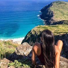 """This view  #hawaii #luckywelivehawaii #hilife #travel #paradise #hike #rei #island #oahu #photooftheday #aloha #ocean #neverstopexploring #beach #hiking…"""