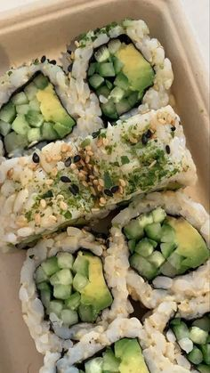 #aesthetic #sushi #summer #indie #summeraesthetic #preppy #aesthetissscc Think Food, I Love Food, Good Food, Yummy Food, Food Porn, Food Goals, Food Is Fuel, Aesthetic Food, Food Cravings