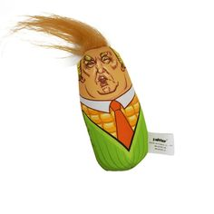 MRXUE Cat Toys Catnip Interactive Cat Toy Donald Trump Corn Cat Scratcher with Catnip for Indoor Kitten >>> Sincerely hope that you do like the image. (This is an affiliate link) Catnip Toys, Pet Toys, Best Interactive Cat Toys, Cartoon Toys, Cat Scratcher, Funny Faces, Cats And Kittens, Plush, Donald Trump