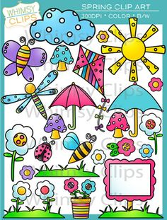 Get ready for Spring with these great clip art pictures ...