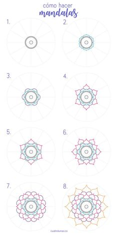 Most current Snap Shots drawing tutorial mandala Strategies Desire to learn to draw? Whether you're a novice searching for some t Mandala Doodle, Mandala Mural, Easy Mandala Drawing, Mandala Art Lesson, Simple Mandala, Mandala Dots, Mandala Painting, Mandala Pattern, Zentangle Patterns