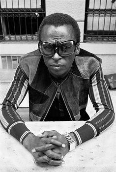 Miles Davis kind of blue...