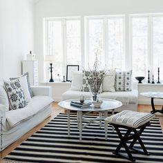 Black and white! #beautiful #yourdailyinspiration #couch #chair #interiordesign…