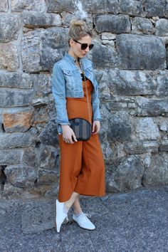Trench Collection by Sonia Verardo: Zara Wide Leg Jumpsuit OOTD