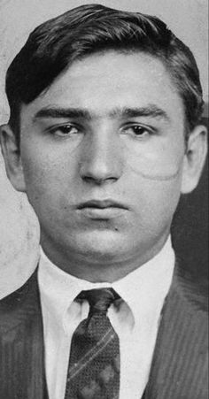 """Jacob """"Little Augie"""" Orgen (January 1893 – October was a New York gangster involved in bootlegging and labor racketeering during the Prohibition. Real Gangster, Mafia Gangster, Sleep With The Fishes, Mafia Crime, Al Capone, Underworld, Mug Shots, American History, At Least"""