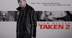 ดูหนังออนไลน์ฟรี Taken 2 (2012) เทคเคน 2 ฅนคม ล่าไม่ยั้ง พากย์ไทย เต็มเรื่อง 2 Movie, Love Movie, Liam Neeson Taken, Best Wallpaper Sites, Bad Film, Taken 2, Poster Design Inspiration, Skyfall, Poster