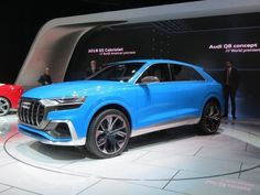 Audi's Luxury Q8 SUV Will Be Joined By A Performance SQ8