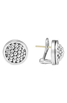Free shipping and returns on LAGOS Caviar Stud Earrings at Nordstrom.com. Bubbly sterling silver gives signature LAGOS texture to a pair of subtly detailed everyday earrings.