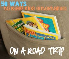 50+ Road Trip Entertainment Ideas for Kids #travel #roadtrip