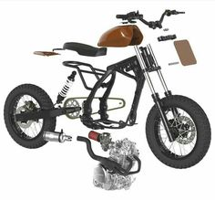 Motorcycle honda cafe racers bobbers 41 ideas for 2019 Honda Dominator, Honda Scrambler, Cafe Racer Honda, Cafe Racer Bikes, Cafe Racer Build, Cafe Racer Motorcycle, Triumph Motorcycles, Motos Honda, Honda Cb