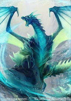 Icedragon by raqmo fantasy dragon, snow dragon, ice dragon, water dragon, eternal Ice Dragon, Water Dragon, Snow Dragon, Fantasy World, Fantasy Art, Fantasy Images, Dragon Medieval, Dark Artwork, Dragon Artwork