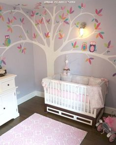 Rylie's Eclectic- Modern Owl Nursery - NYC - Project Nursery | Project Nursery