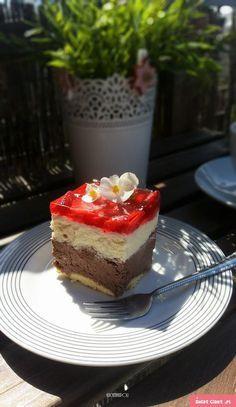 Melba ciasto ( bez pieczenia, z alkoholem ) - Swiatciast.pl Cookie Desserts, Cookie Recipes, Sponge Cake, Cheesecakes, Cake Cookies, Gingerbread, Baking, Sweet, Recipes For Biscuits