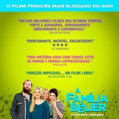 CULTURA SCHICK: A FAMÍLIA BÉLIER - cinema