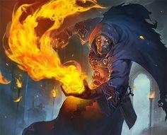 Forbidden Flame - Card - Hearthstone
