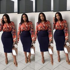 Look good to feel good. Start the week looking like a bag of money. Have a fruitful week #girlboss ❣️ #bossladies #workingwoman #corporatewears #mondays Corporate Outfits, Corporate Wear, Corporate Fashion, Business Casual Outfits, Office Outfits, Classy Outfits, Chic Outfits, Fashion Outfits, Office Wear