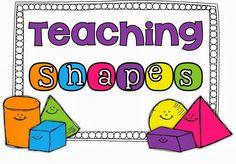 Teaching Shapes in Kindergarten!