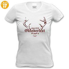Damen-T-Shirt-Girlie-Shirt :-: Volksfest-Fasching-