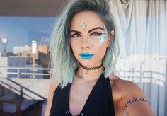 BLUE IBIZA MAKEUP (Sophie Hannah Richardson)