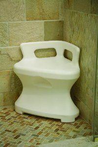 Corner Shower Seat 17 X17 X23 By Maddak Inc 111 79