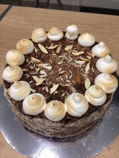 Gluténmentes, tejmentes, cukormentes csokis mandulás torta