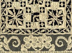 This site describes and have pictures of different types of lace, and tells about their history.