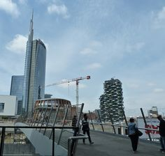 ..the changing skyline of Milan, Italy.....