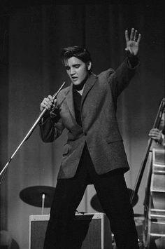 Elvis in concert, 1956