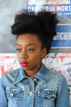 The Beauty Of Natural Hair Board Natural Afro Hairstyles, Short Black Hairstyles, Cool Hairstyles, How To Grow Natural Hair, Long Natural Hair, Natural Updo, Pin Up Hair, Big Hair, Hair Cut