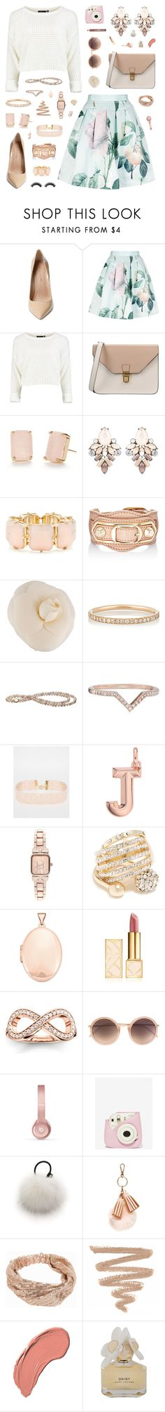 """""""Hello, babe."""" by belenloperfido ❤ liked on Polyvore featuring Maiden Lane, Ted Baker, 8, Kate Spade, R.J. Graziano, Balenciaga, Chanel, Ileana Makri, ASOS and Monica Vinader"""
