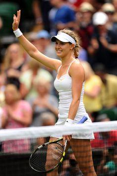 Eugenie Bouchard - Wimbledon Tennis Championships: Day 3