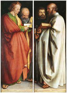 Albrecht Durer, Four Apostles (1526)