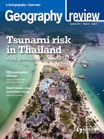This magazine has case studies and articles written by geographers for A-level students.