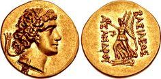 KINGS of BOSPOROS. Asander. As king, circa 43-16 BC. AV Stater (20mm, 8.21 g, 12h). Dated RY 6 (42/1 BC).