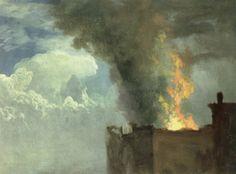 The Conflagration - Albert Bierstadt, 1890