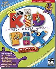 Kid Pix! The software that started it all! (For me, at least. lol.)